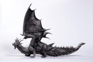 有澤悠河さんの作品「ドラゴン2018(イブキ)」